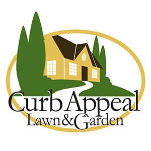 Curb Appeal Lawn & Garden logotype by Context Marketing Communications.