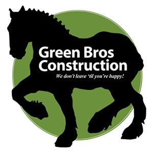 Green Bros. Construction logotype by Context Marketing Communications.