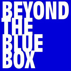 Beyond The Blue Box logotype by Context Marketing Communications.