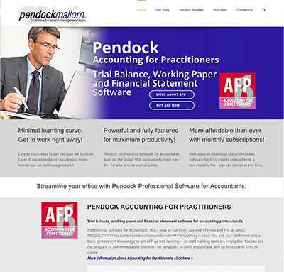 Pendock Mallorn web site by Context Marketing Communications