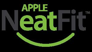 Apple Dentures NeatFit logotype by Context Marketing Communications.